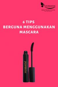 tip menggunakan mascara
