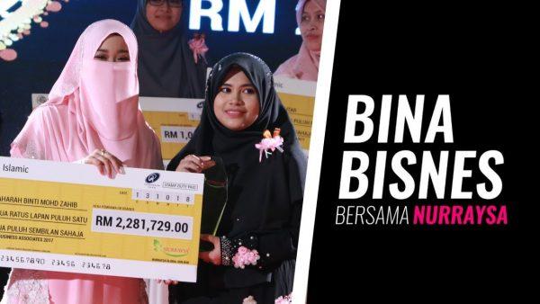 Bina Bisnes Bersama Nurraysa: Fatimah Zaharah, Jutawan Surirumah