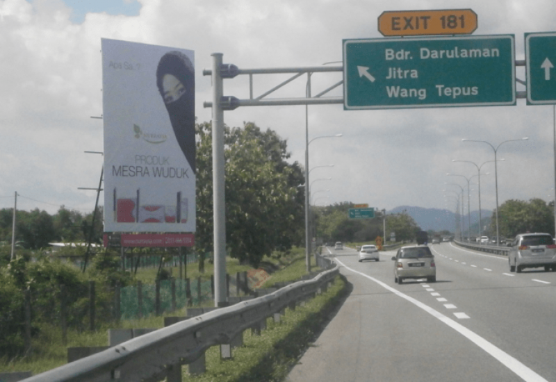 Jitra Exit @ 37.6 KM from KL